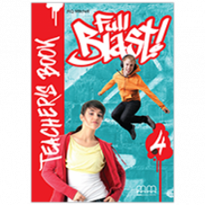 Книга для учителя Full Blast 4 Teacher's Book