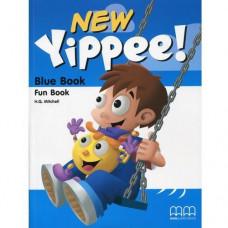 Рабочая тетрадь New Yippee  Blue Fun Book with CD-ROM