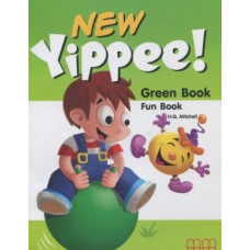 Рабочая тетрадь New Yippee  Green Fun Book with CD-ROM