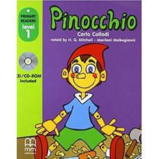Книга Pinocchio with CD-ROM Level 1