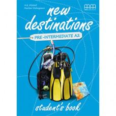 Учебник  New Destinations Pre-Intermediate A2 Student's Book