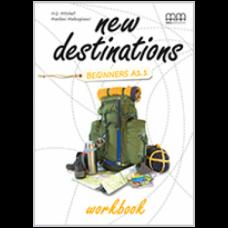 Рабочая тетрадь New Destinations Beginner A1.1 Workbook