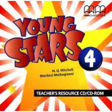 Диск Young Stars 4 Teacher's resource CD/CD-ROM