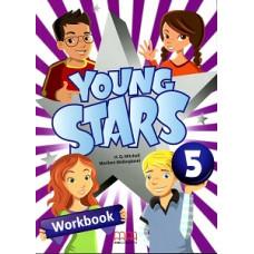 Рабочая тетрадь Young Stars 5 Workbook with CD