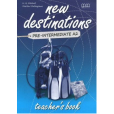 Книга для учителя New Destinations Pre-Intermediate A2 Teacher's Book