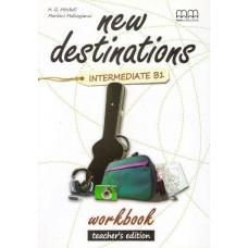 Книга для учителя New Destinations Intermediate B1 Teacher's Workbook