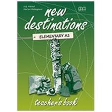 Книга для учителя New Destinations Elementary A1 Teacher's Book