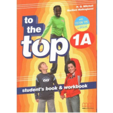 Учебник английского языка To the Top 1A Split Edition with Culture Time for Ukraine Student's Book + Workbook with CD-ROM