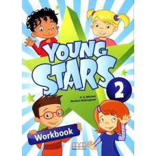 Рабочая тетрадь Young Stars 2 Workbook with CD