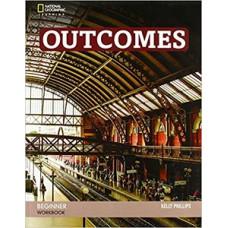 Рабочая тетрадь Outcomes 2nd Edition Beginner Workbook + Audio CD