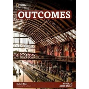 Учебник Outcomes 2nd Edition Beginner Student's Book + Class DVD
