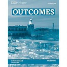 Рабочая тетрадь Outcomes 2nd Edition Intermediate Workbook + Audio CD