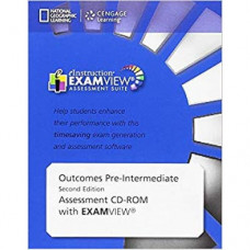 Диск Outcomes 2nd Edition Pre-Intermediate ExamView (Assessment CD-ROM)