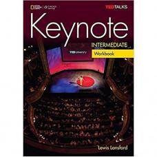 Рабочая тетрадь Keynote Intermediate Workbook with Audio CDs