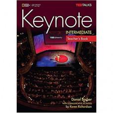 Книга для учителя Keynote Intermediate Teacher's Book with Audio CDs