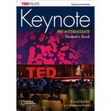 Учебник английского языка Keynote Pre-Intermediate Student's Book with DVD-ROM
