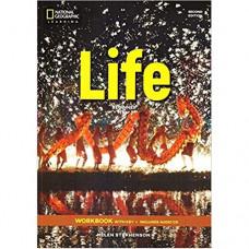 Рабочая тетрадь Life 2nd Edition Beginner Workbook with Key and Audio CD