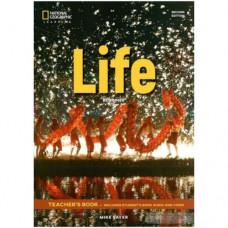 Книга для учителя Life 2nd Edition Beginner Teacher's Book includes SB Audio CD and DVD