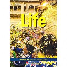 Рабочая тетрадь Life 2nd Edition Elementary Workbook with Key and Audio CD