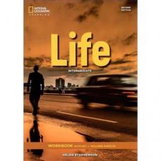 Рабочая тетрадь Life 2nd Edition Intermediate Workbook with Key and Audio CD