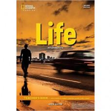 Книга для учителя Life 2nd Edition Intermediate Teacher's Book includes SB Audio CD and DVD