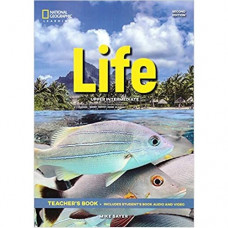 Книга для учителя Life 2nd Edition Upper-intermediate Teacher's Book includes SB Audio CD and DVD