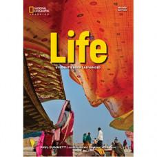 Учебник английского языка Life 2nd Edition Advanced Student's Book with App Code