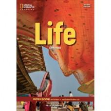 Рабочая тетрадь Life 2nd Edition Advanced Workbook with Key and Audio CD