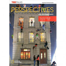 Книга для учителя Perspectives Pre-Intermediate Teacher's Book with Audio CD & DVD