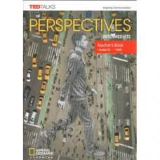 Книга для учителя Perspectives Intermediate Teacher's Book with Audio CD & DVD