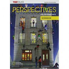 Рабочая тетрадь Perspectives Pre-Intermediate Workbook with Audio CD