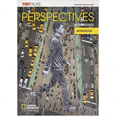 Рабочая тетрадь Perspectives Intermediate Workbook with Audio CD