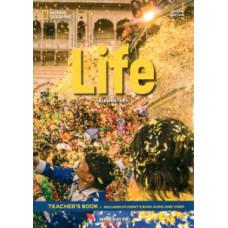 Книга для учителя Life 2nd Edition Elementary Teacher's Book includes SB Audio CD and DVD