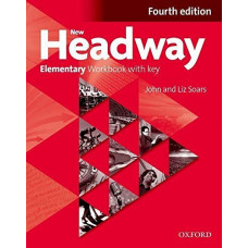 Рабочая тетрадь New Headway (4th Edition) Elementary Workbook with Key