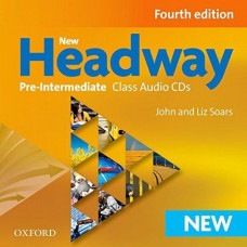 Диски New Headway (4th Edition) Pre-Intermediate Class Audio CDs