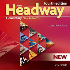 Диски New Headway (4th Edition) Elementary Class Audio CDs