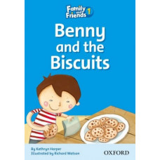 Книга для чтения Family and Friends 1 Reader D Benny and the Biscuits