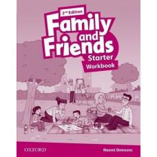 Рабочая тетрадь Family and Friends (Second Edition) Starter Workbook