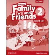 Рабочая тетрадь Family and Friends (Second Edition) 2 Workbook for Ukraine