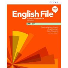 Рабочая тетрадь English File 4th Edition Upper-Intermediate Workbook with key