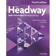 Рабочая тетрадь New Headway (4th Edition) Upper-Intermediate Workbook with Key