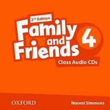 Диски Family and Friends 4 (Second Edition) Class Audio CD