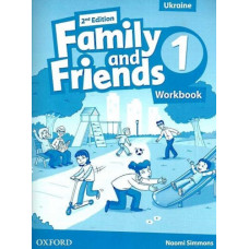 Рабочая тетрадь Family and Friends (Second Edition) 1 Workbook for Ukraine