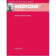 Книга для учителя Medicine 1 Teacher's Resource Book