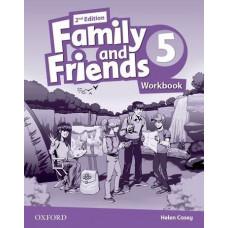 Рабочая тетрадь Family and Friends (Second Edition) 5 Workbook