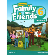 Учебник  Family and Friends (Second Edition) 6 Class Book