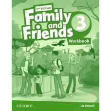 Рабочая тетрадь Family and Friends (Second Edition) 3 Workbook