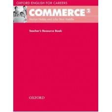 Книга для учителя  Commerce 2 Teacher's Resource Book