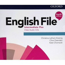 Диски English File 4th Edition Intermediate Plus Class Audio CDs