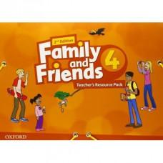 Набор для учителя Family and Friends (Second Edition) 4 Teacher's Resource Pack